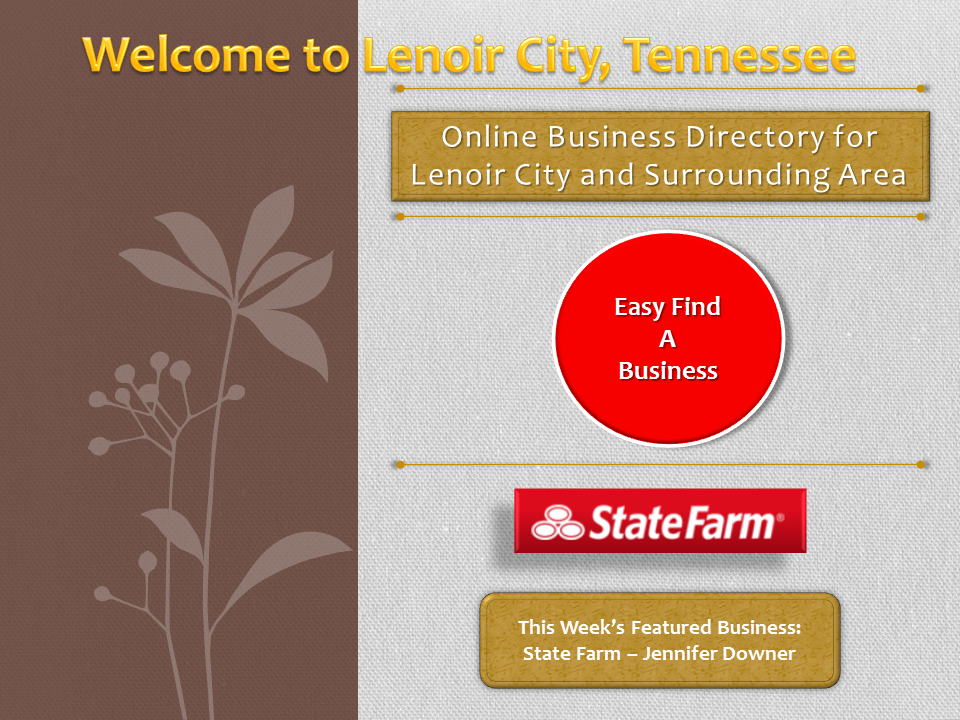 Business Directory for Lenoir City and Surrounding Areas